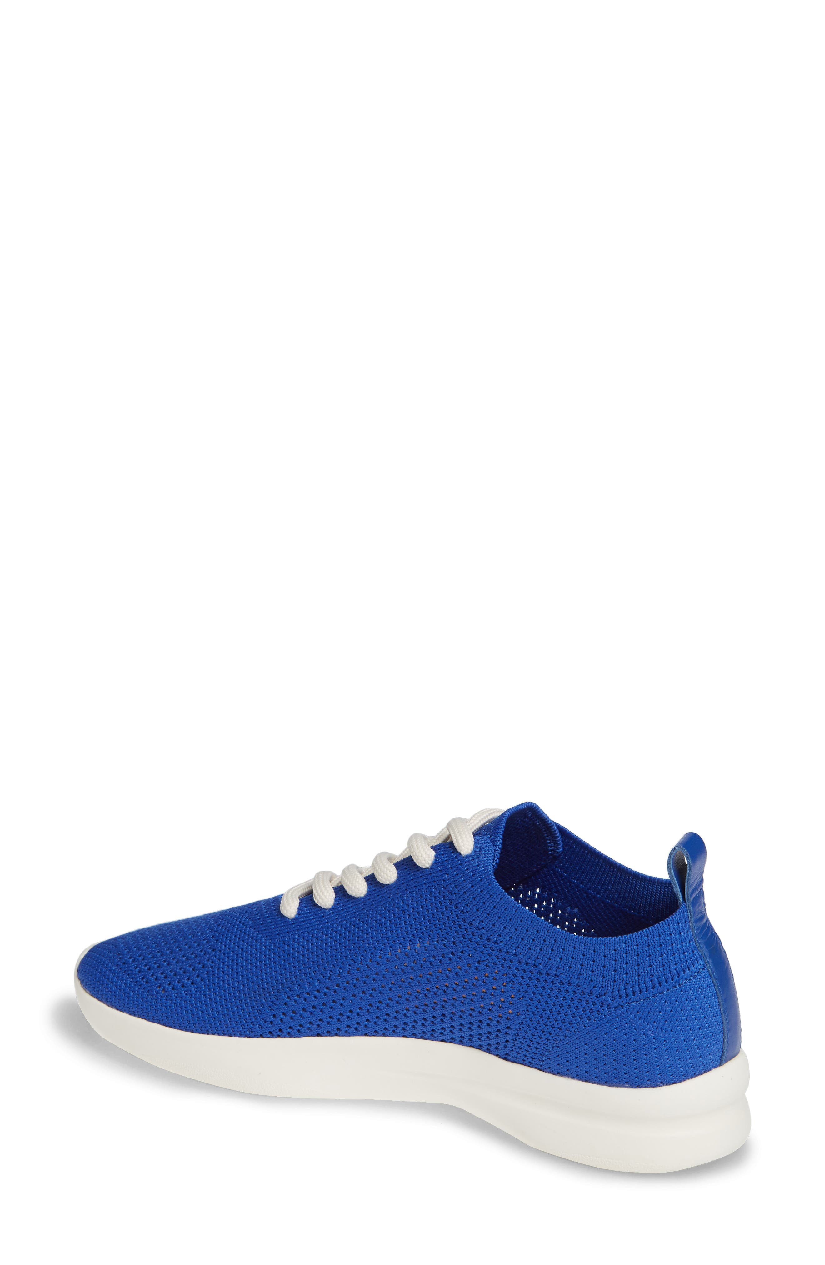 Randee Sneaker,                             Alternate thumbnail 2, color,                             Blue Fabric