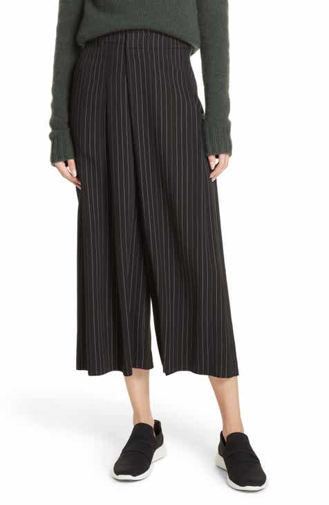 Vince Pinstripe Culottes by VINCE