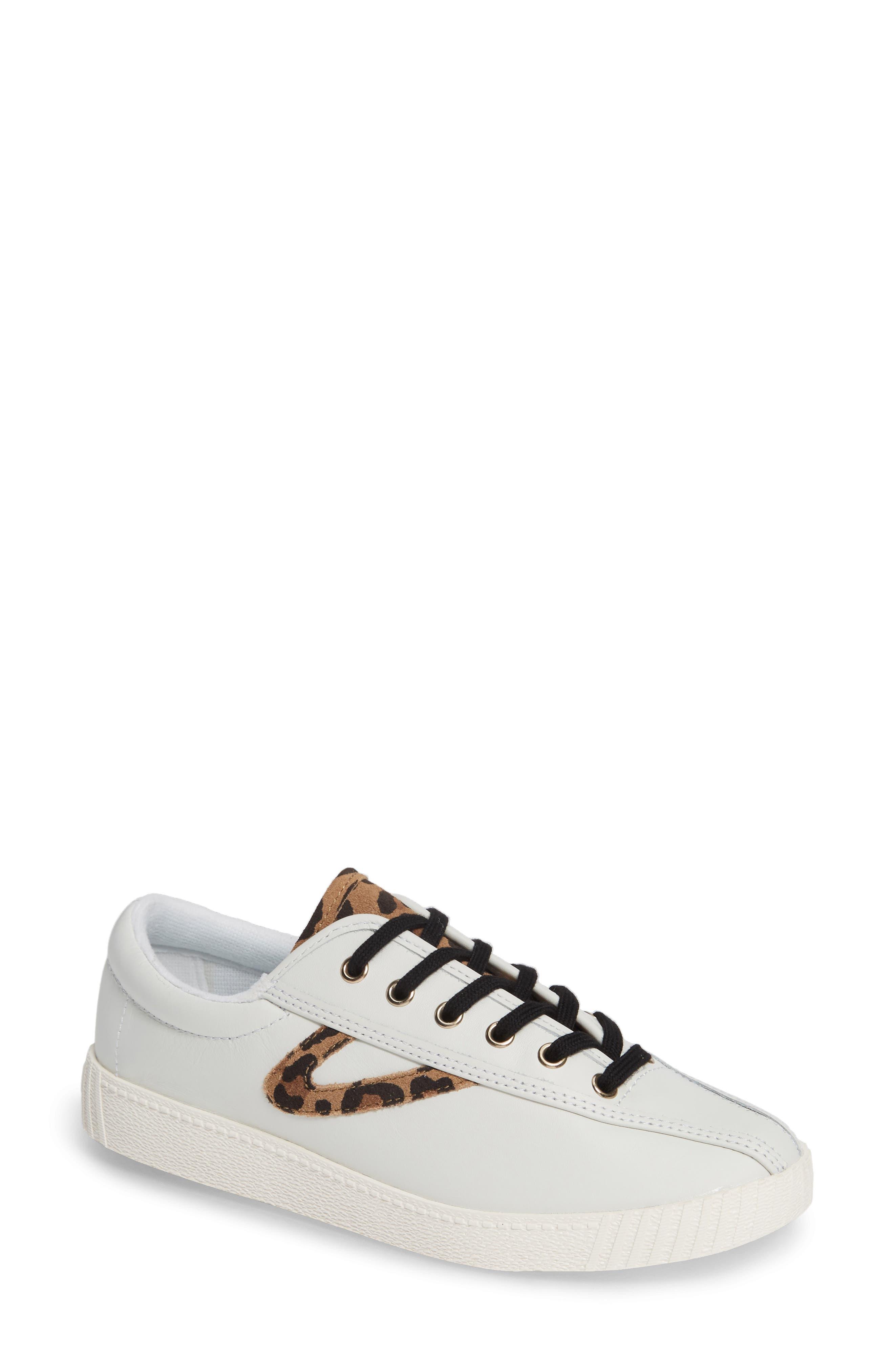Patterned Sneaker,                         Main,                         color, Vintage White/ Tan Multi
