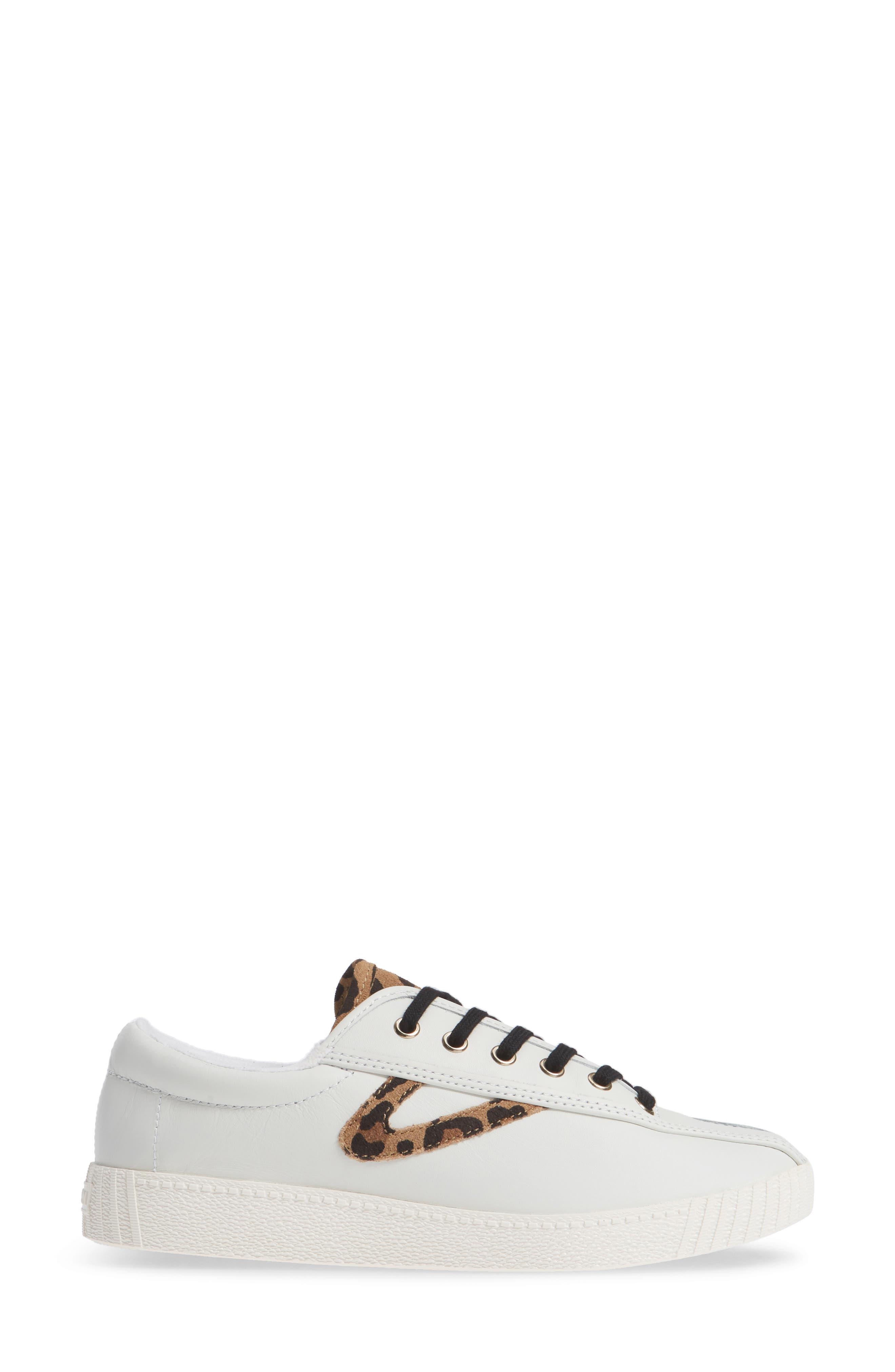 Patterned Sneaker,                             Alternate thumbnail 5, color,                             Vintage White/ Tan Multi