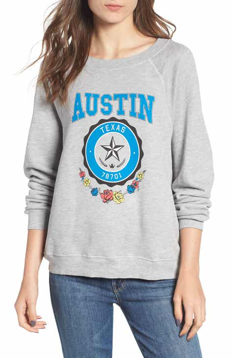 Wildfox Austin Crest Sommers Sweatshirt