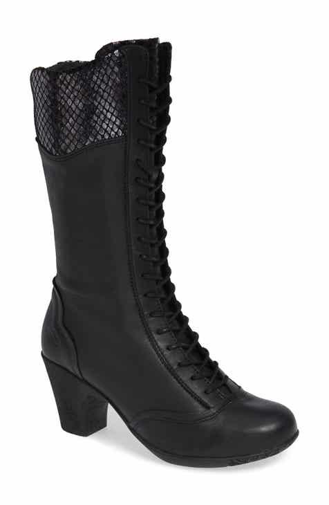 309fcd55c6dc CLOUD Janna Tall Snake Textured Bootie (Women)