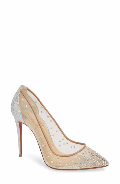 Christian Louboutin Follies Strass Pointy Toe Pump ef0199cb0287