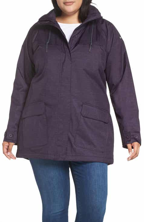 3a6cdbffcca3b Columbia Lookout Crest Omni-Tech Waterproof Jacket (Plus Size)