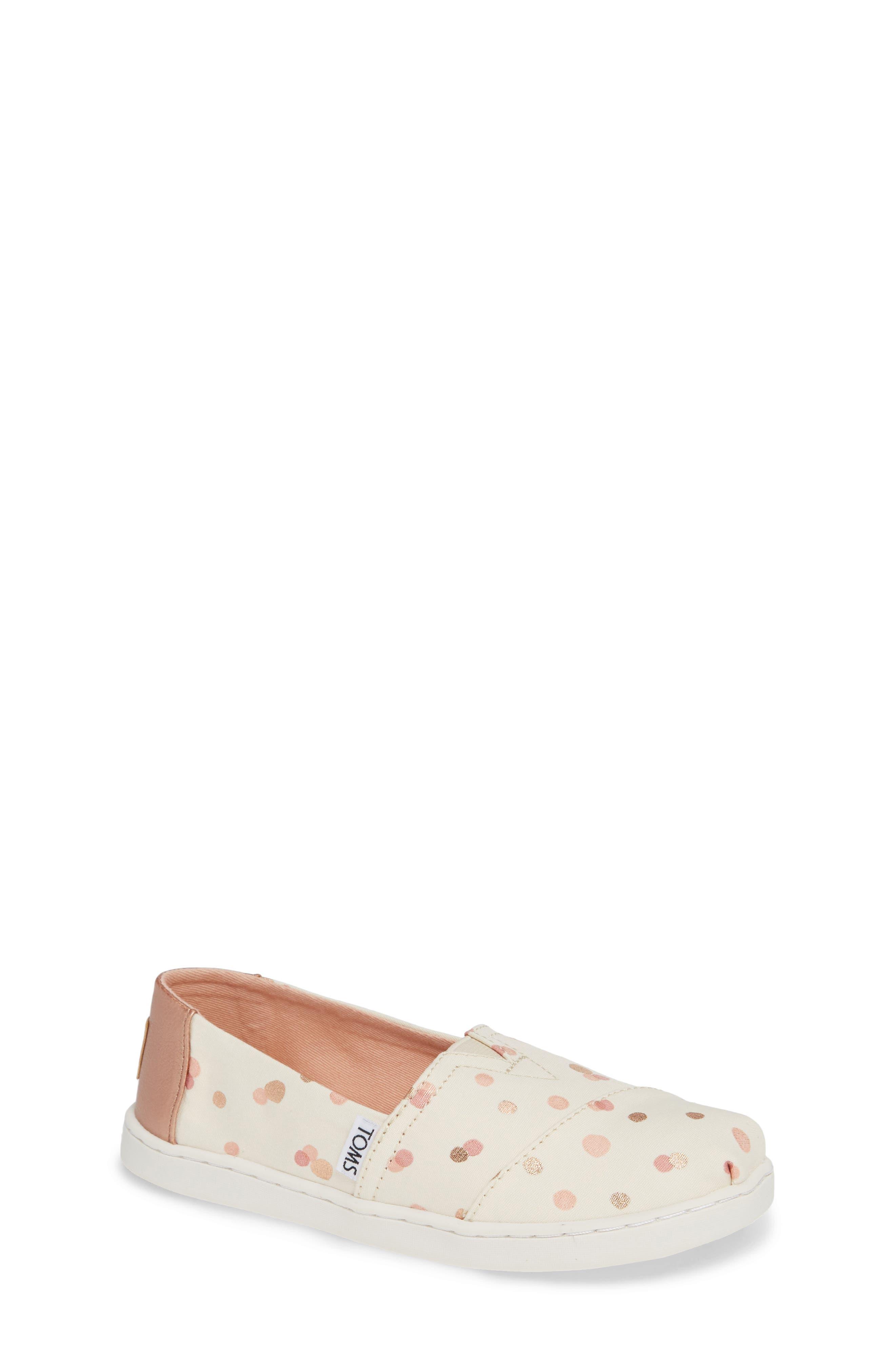 Alpargata Print Slip-On,                         Main,                         color, Pale Blush