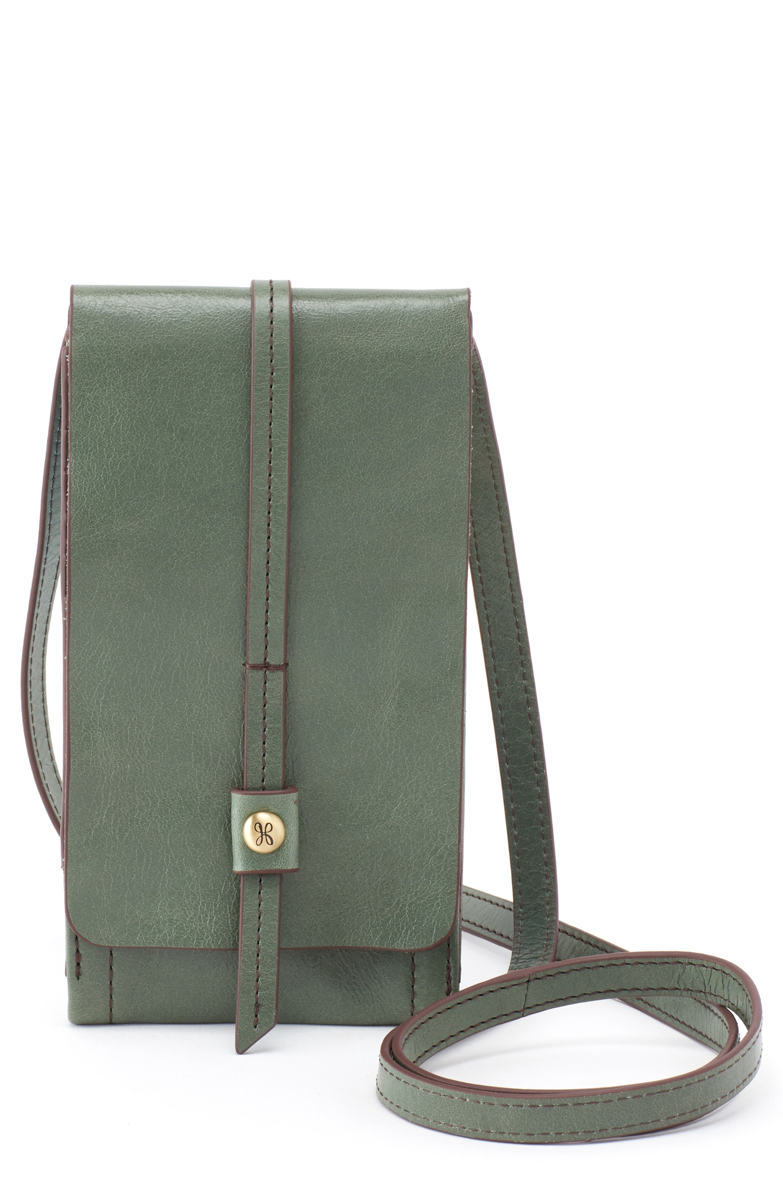 Token Smartphone Crossbody Bag,                         Main,                         color, Moss