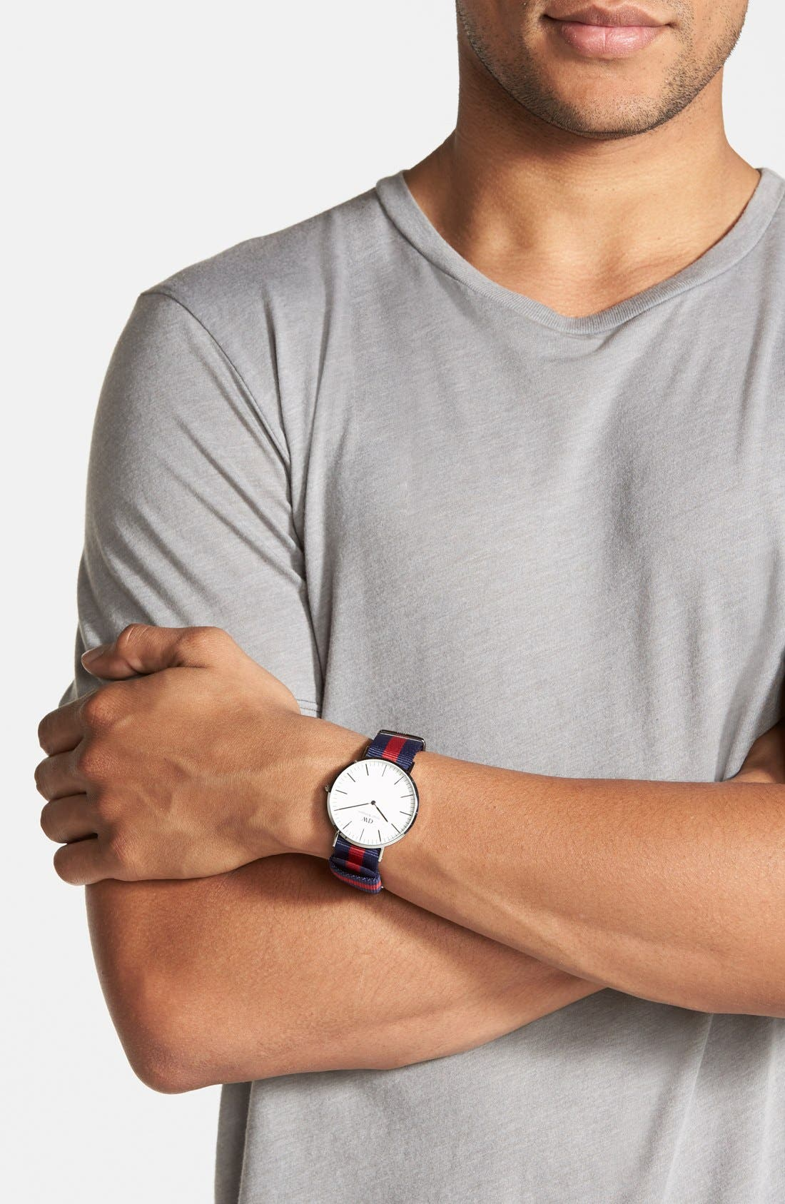 Alternate Image 3  - Daniel Wellington 'Classic Oxford' NATO Strap Watch, 40mm