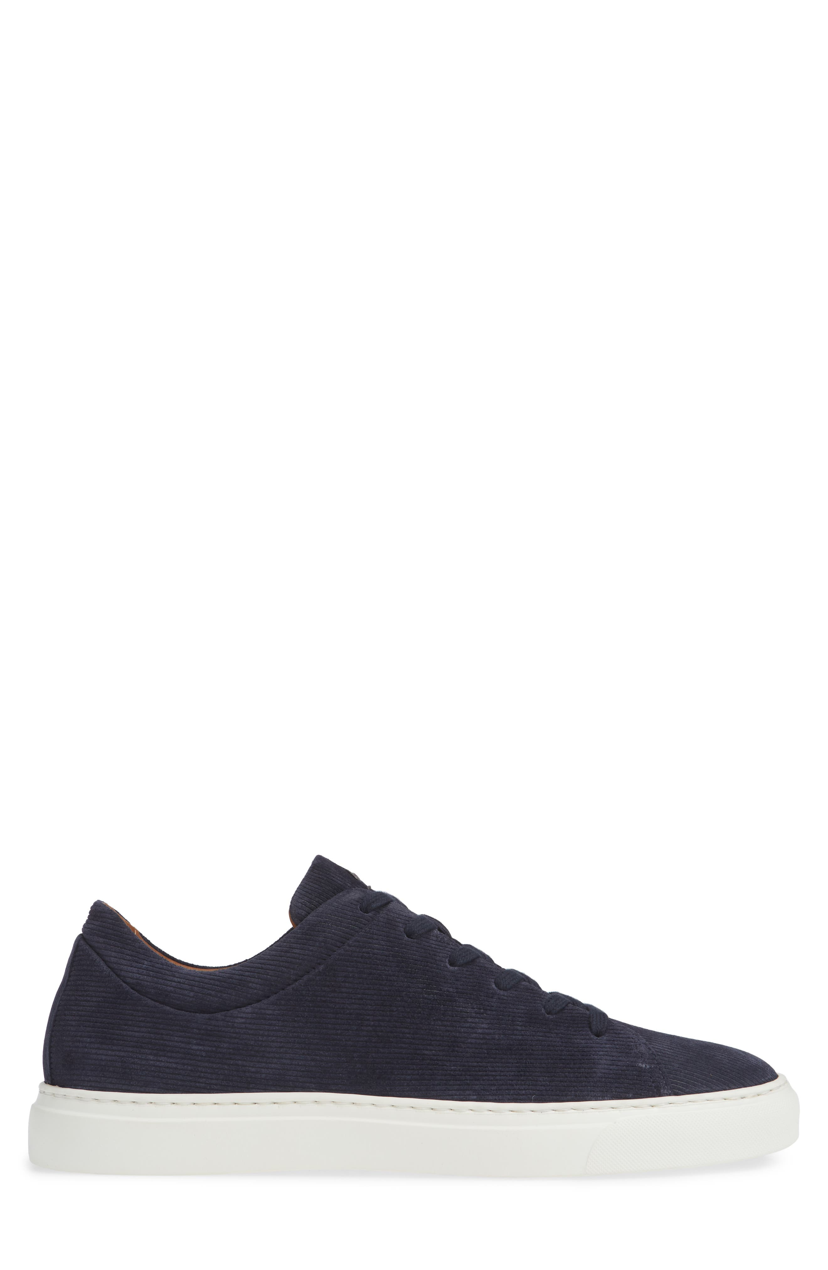Alaric Sneaker,                             Alternate thumbnail 4, color,                             Navy Suede