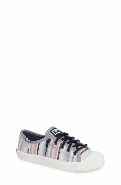 c85ff33657abed Keds® Kickstart Stripe Cap Toe Sneaker (Baby