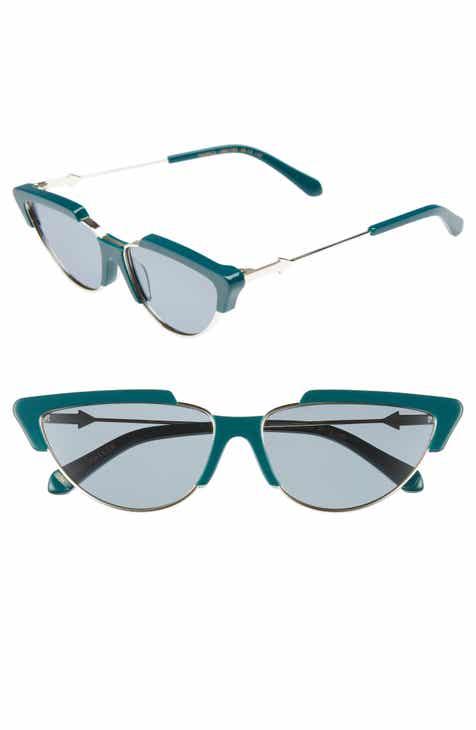 5fc92ab17b7 Karen Walker Tropics 58mm Cat Eye Sunglasses