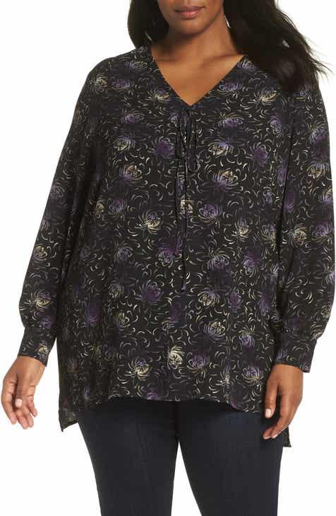 38b578c5c7a Sejour V-Neck Tunic Top (Plus Size)