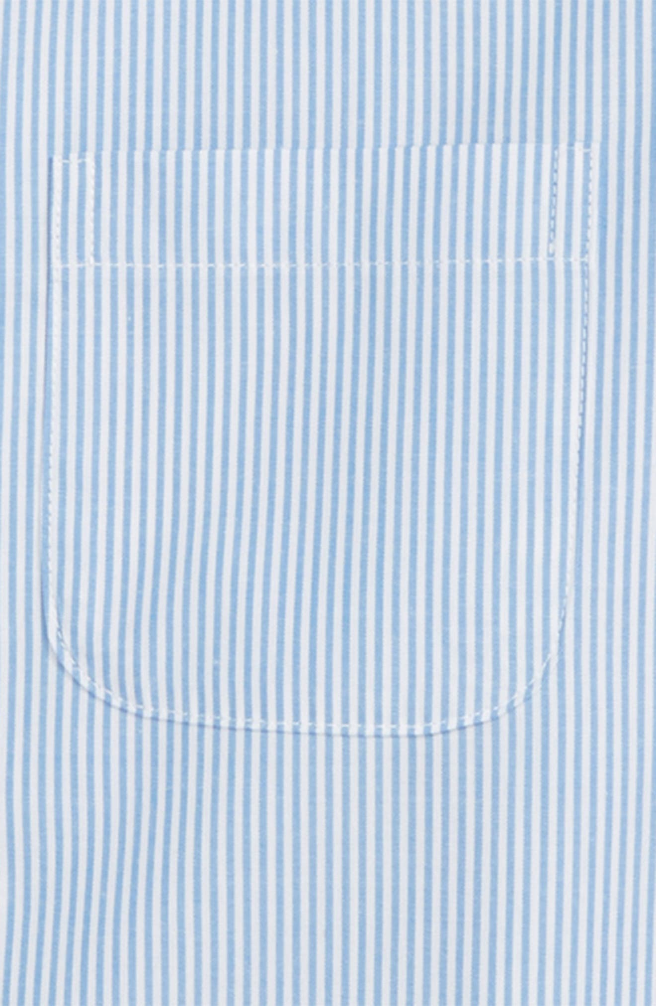 Heritage Stripe Dress Shirt,                             Alternate thumbnail 2, color,                             Blue Heritage- White Stripe