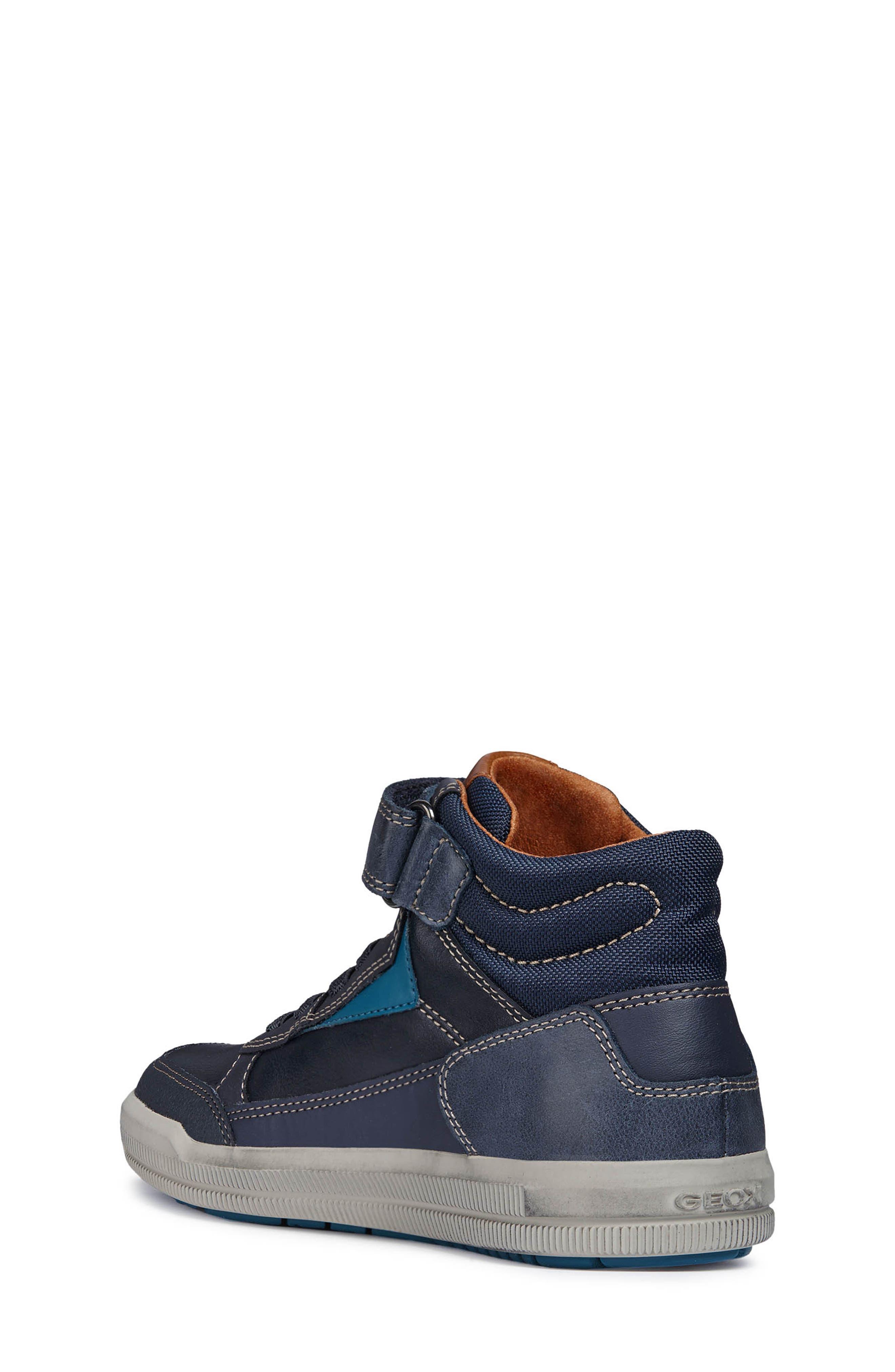 Arzach Mid Top Sneaker,                             Alternate thumbnail 2, color,                             Navy/Petrol