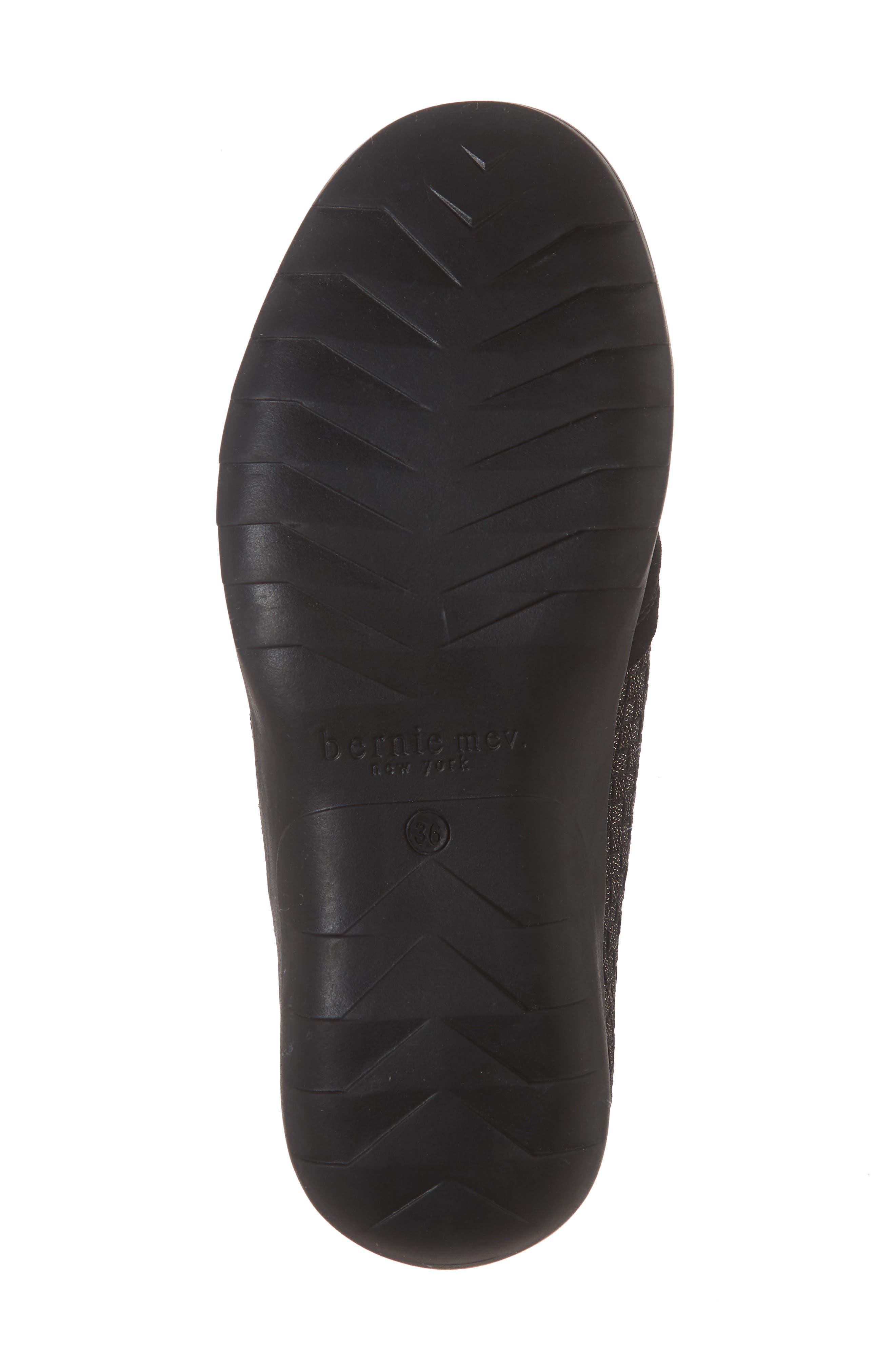 Swift Slip-On Sneaker,                             Alternate thumbnail 3, color,                             Gold Black Shimmer Leather