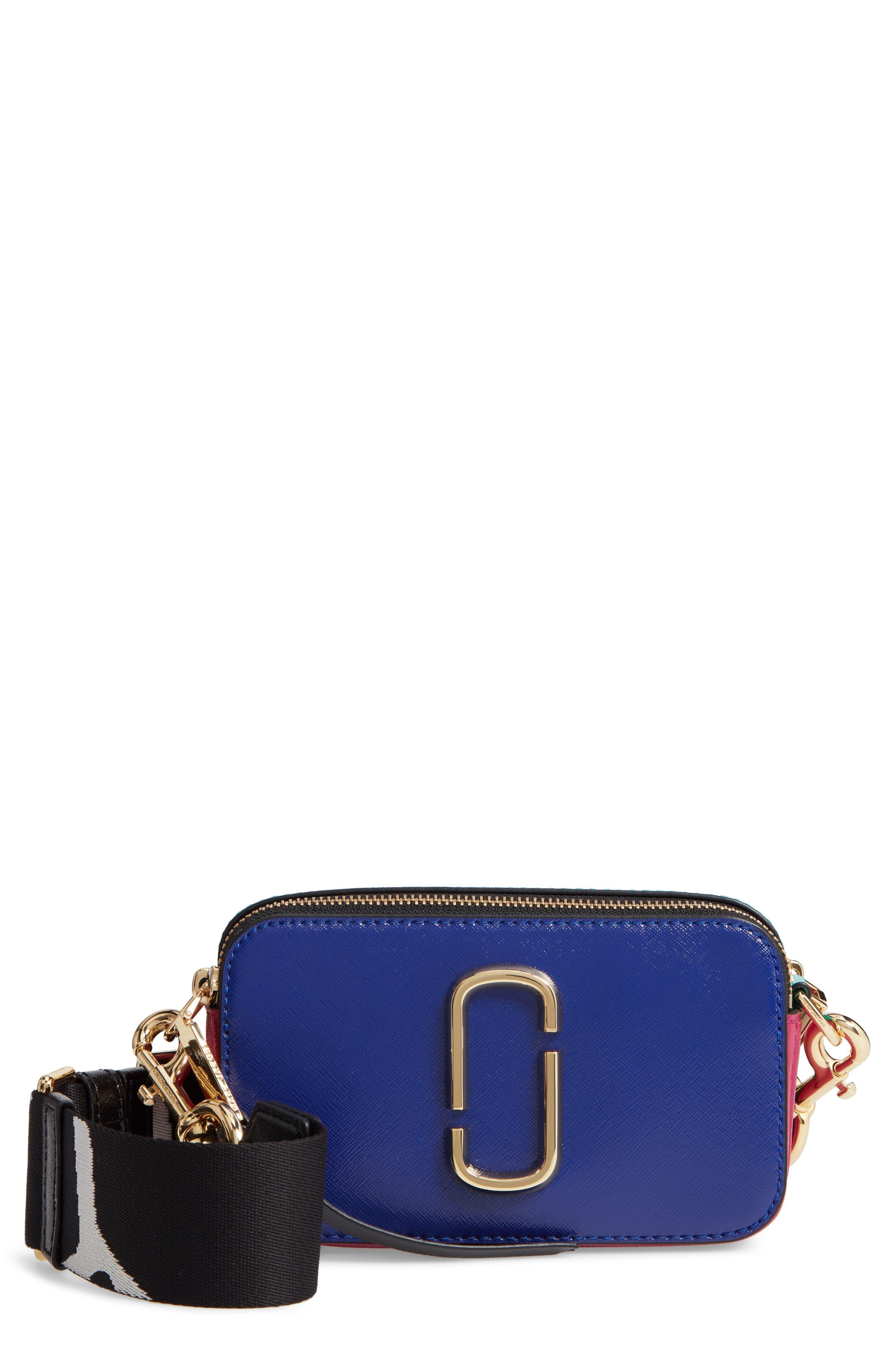 Snapshot Crossbody Bag,                             Main thumbnail 1, color,                             Academy Blue Multi