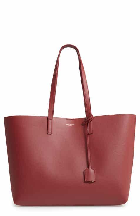 b1787fea1846 Saint Laurent  Shopping  Leather Tote