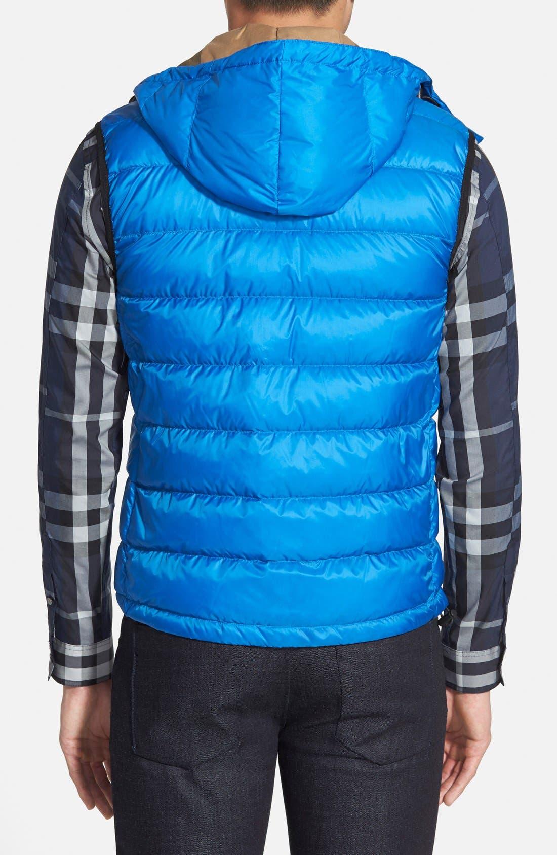 Alternate Image 2  - Burberry 'Moores' Down Vest