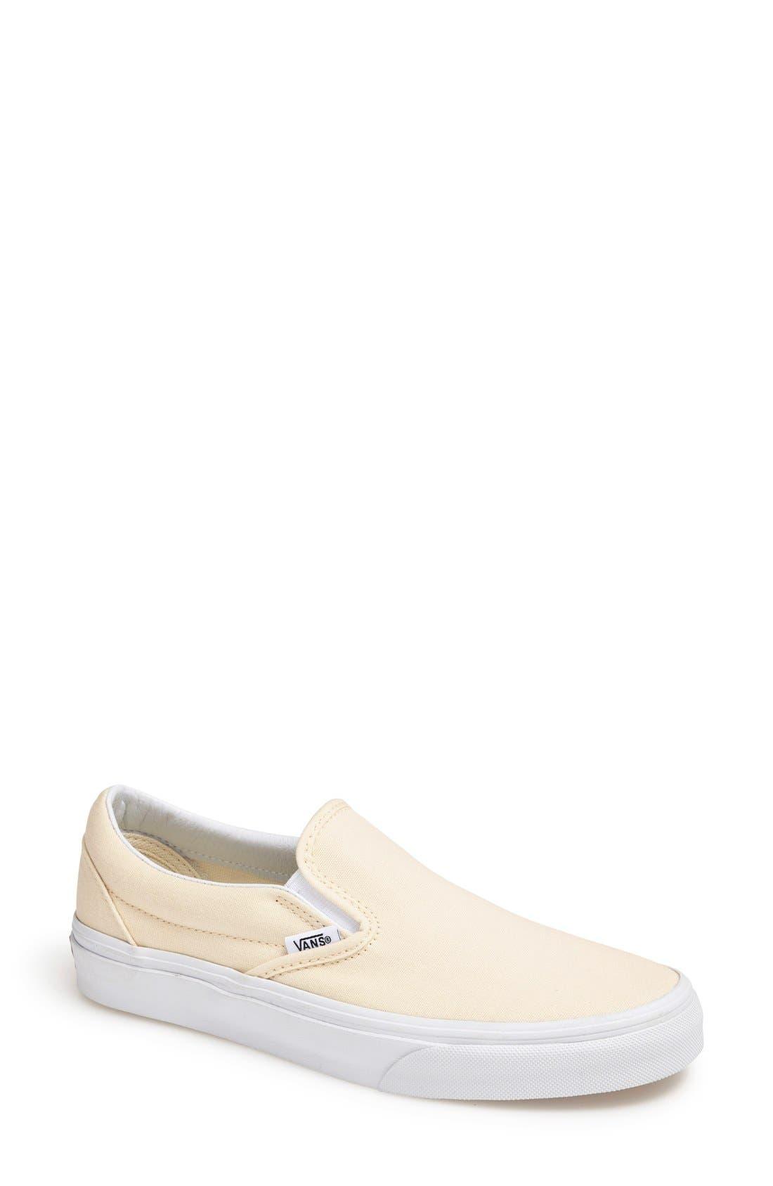 'Classic' Slip-On,                         Main,                         color, White