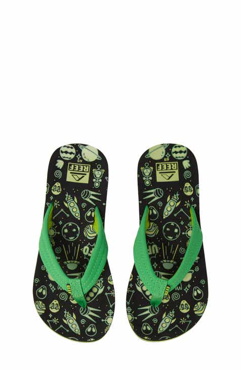 9eda4ac3e637f7 Reef Ahi Glow in the Dark Flip Flop (Baby