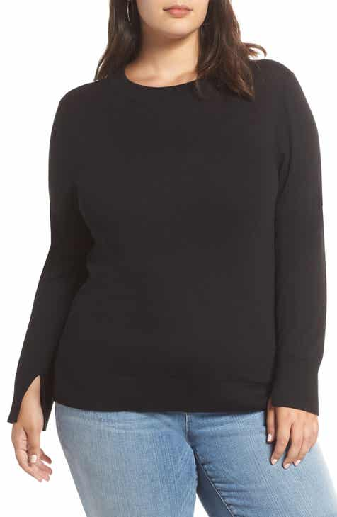 872fe3d28a2 Halogen® Delta Crewneck Sweater (Plus Size)
