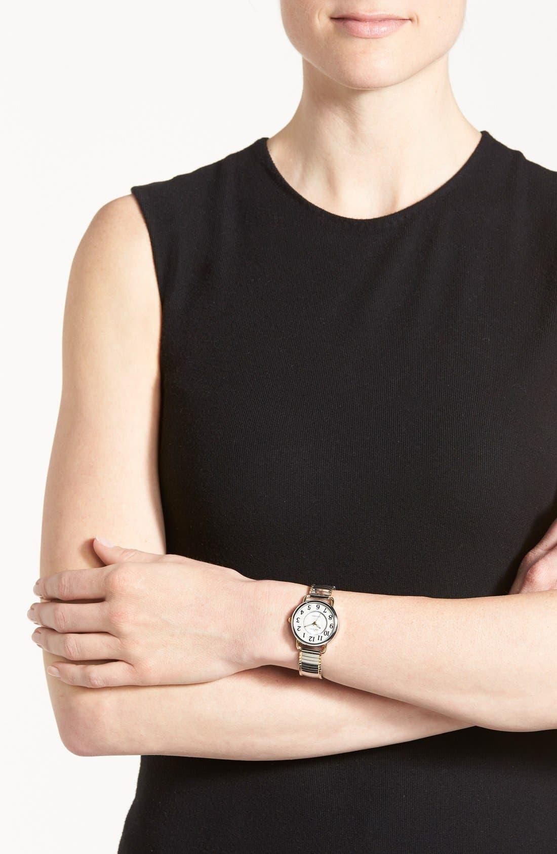 Alternate Image 2  - AK Anne Klein Expansion Bracelet, 27mm