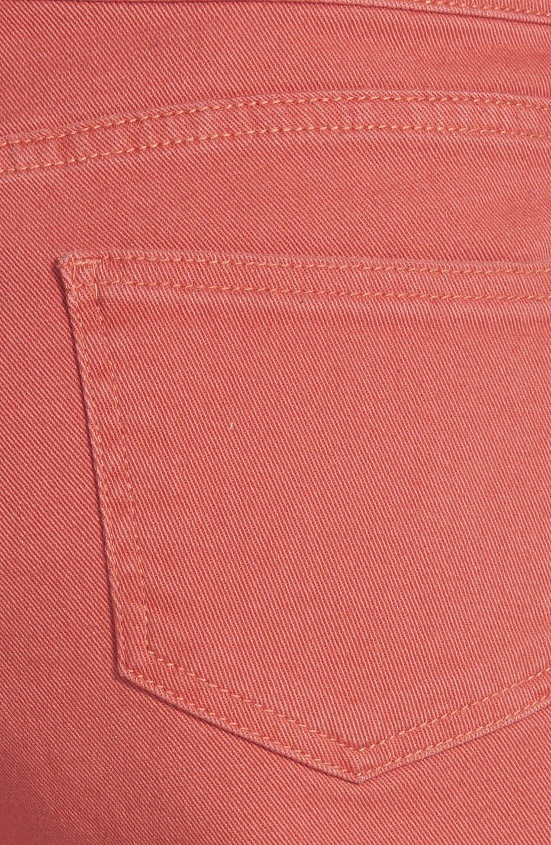 Alternate Image 3  - STS Blue High Waist Cutoff Shorts