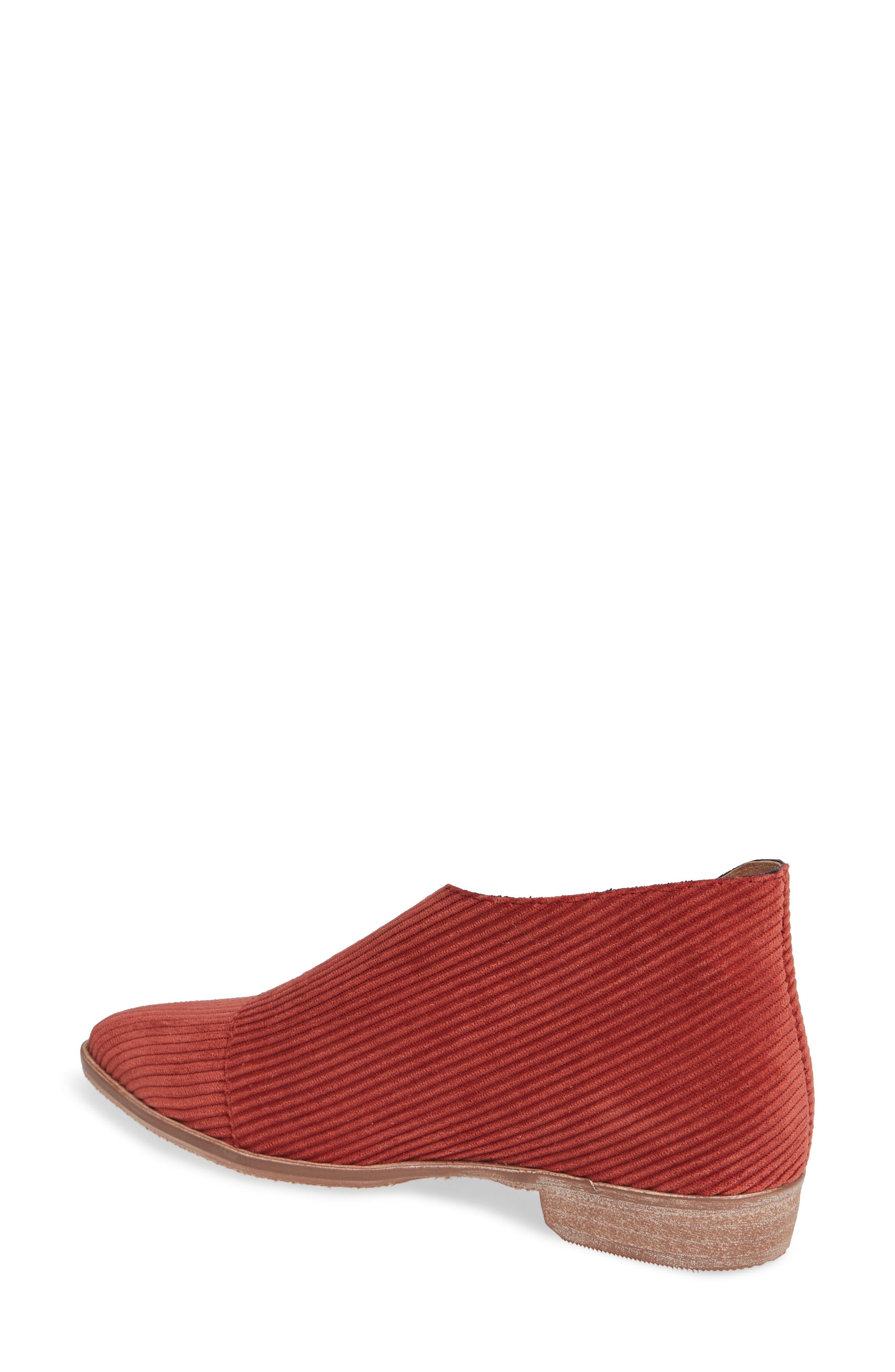 'Royale' Pointy Toe Flat,                             Alternate thumbnail 2, color,                             Burnt Orange