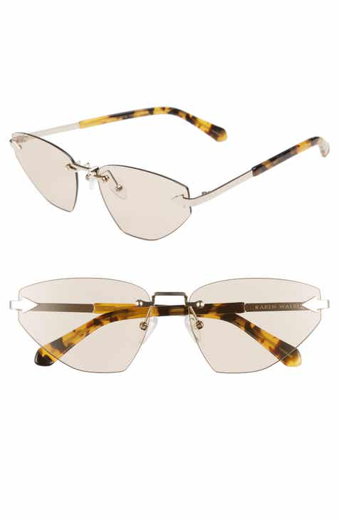 bffc46531c Karen Walker Heartache 60mm Cat Eye Sunglasses