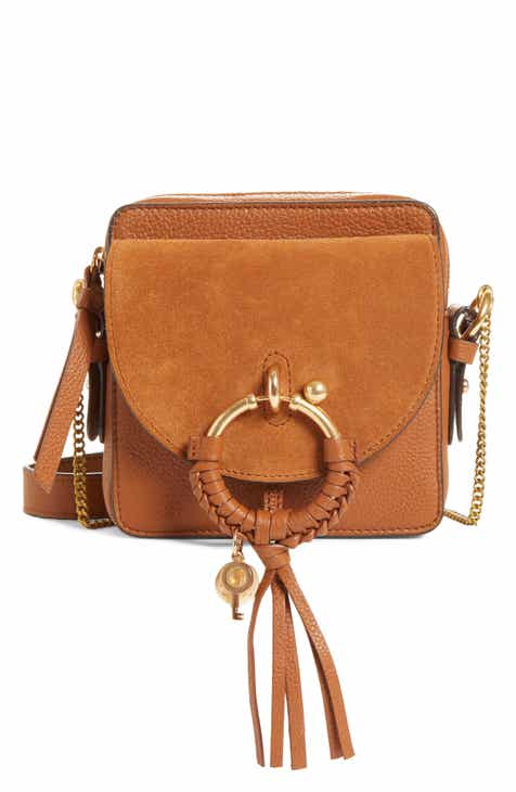See By Chloé Small Joan Suede Leather Crossbody Bag