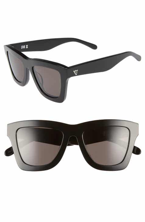 713a1eab2b19 VALLEY DB II 50mm Retro Sunglasses.  199.99. Product Image. 24K GOLD  BLACK