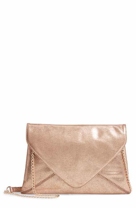 Trouvé Jade Envelope Clutch