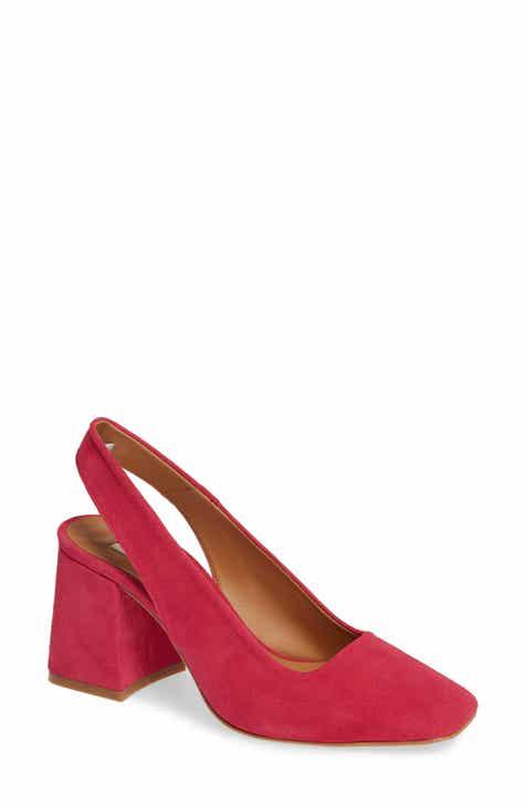 Pink Block Heel Pumps Sandals And Slides For Women Nordstrom