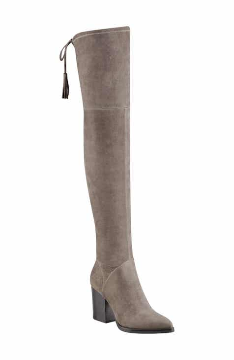 Marc Fisher LTD Alinda Over the Knee Boot (Women) 2db7c65ec8