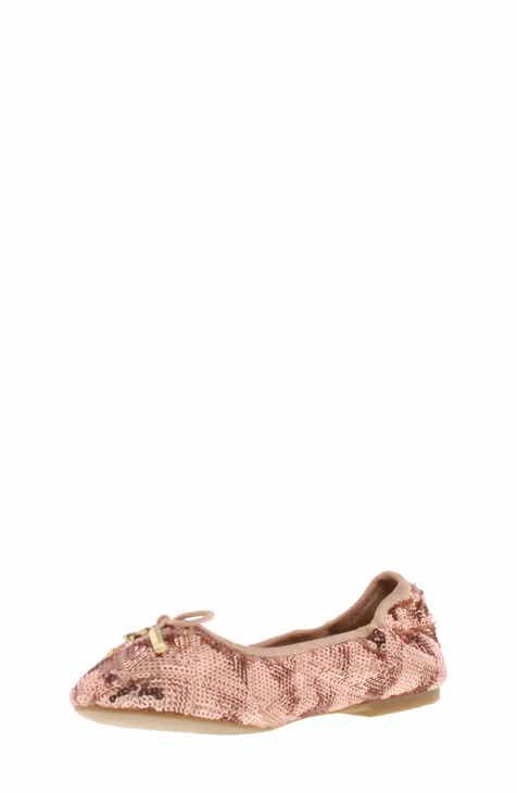 02affba8b30e25 Sam Edelman Felicia Sequin Ballet Flat (Toddler