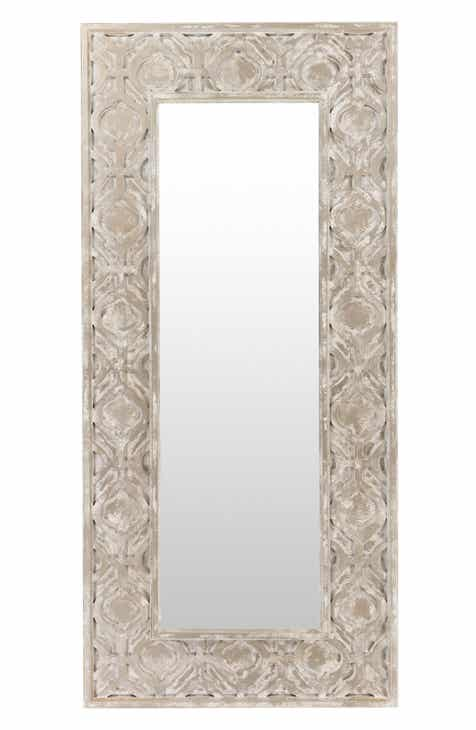 Art wall decor mirrors nordstrom surya home white wash mirror gumiabroncs Choice Image
