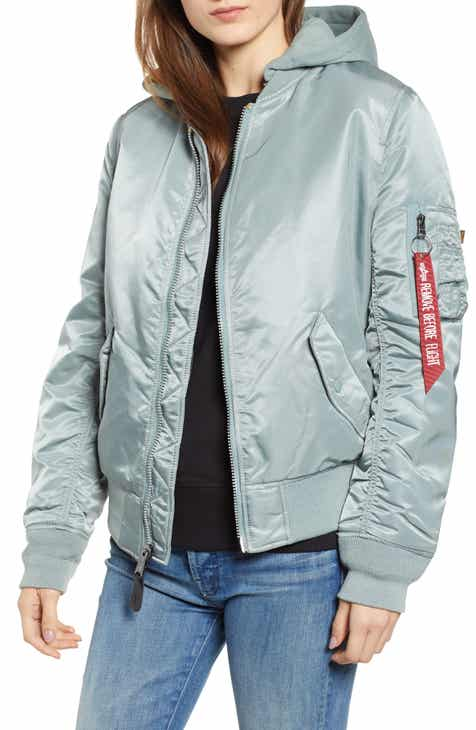 Alpha Industries MA-1 Natus Hooded Bomber Jacket 1905ce7dc6d2