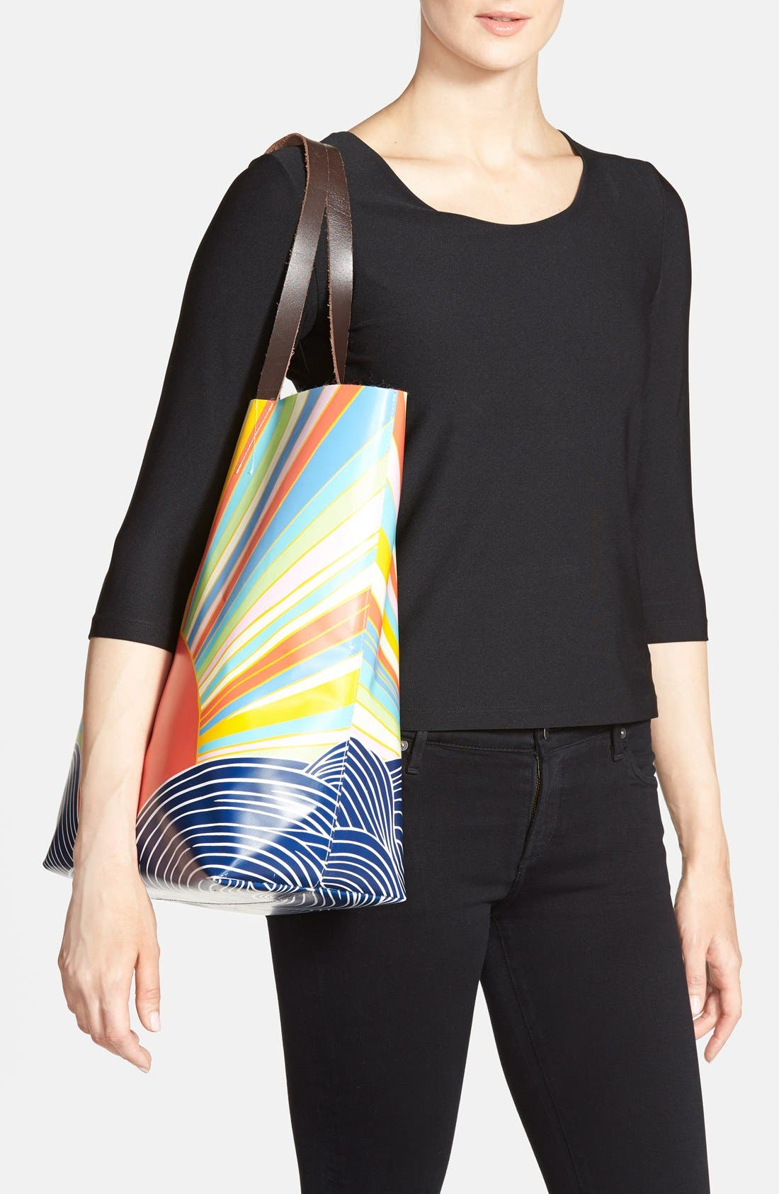 Alternate Image 2  - Mara Hoffman Leather Handle Bag