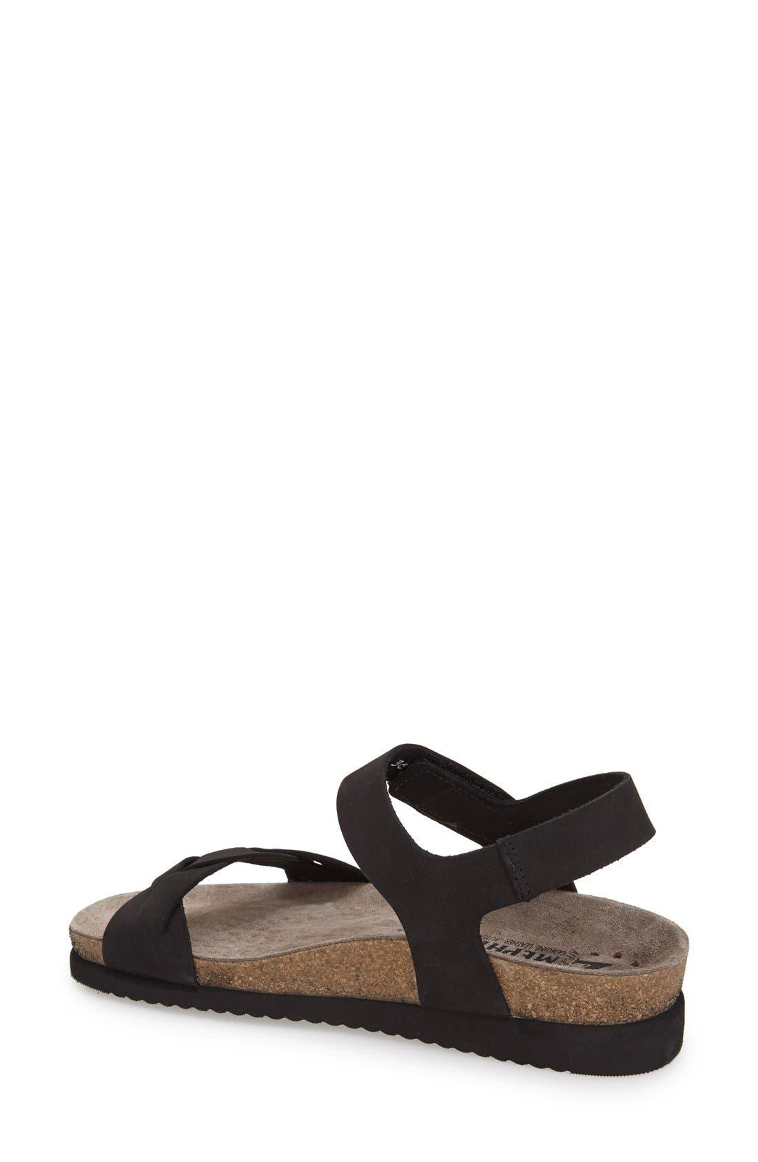Alternate Image 2  - Mephisto 'Honoria' Nubuck Leather Sandal (Women)