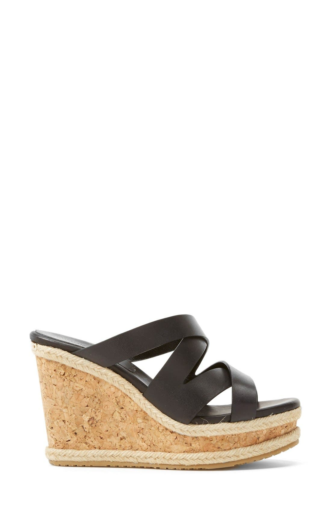 Alternate Image 4  - Jimmy Choo 'Prisma' Leather Wedge Sandal (Women)