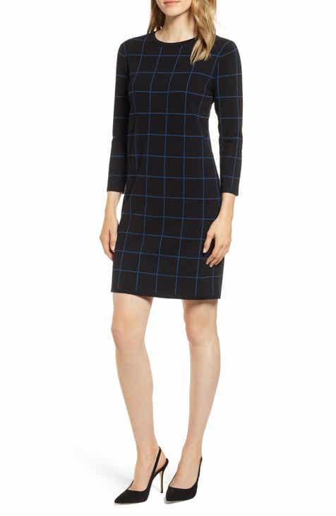 Anne Klein Crewneck Sweater Dress