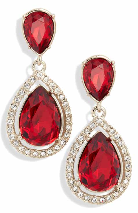 f2f359c20163e Givenchy Crystal Drop Earrings