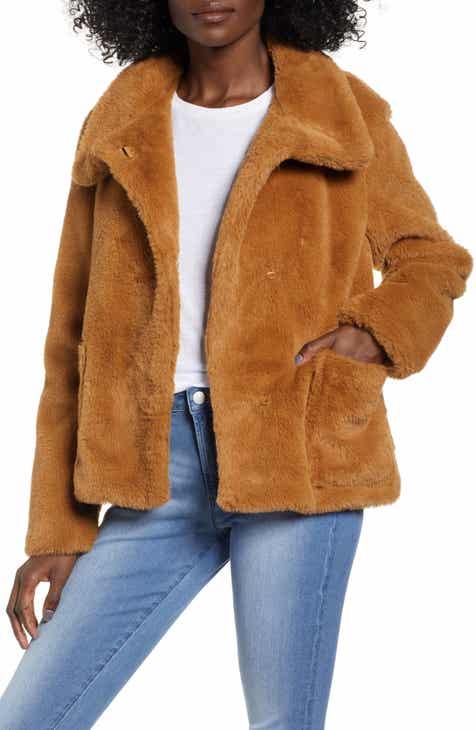 bdd5b216bad7 Leith Fur-Fect Faux Fur Jacket