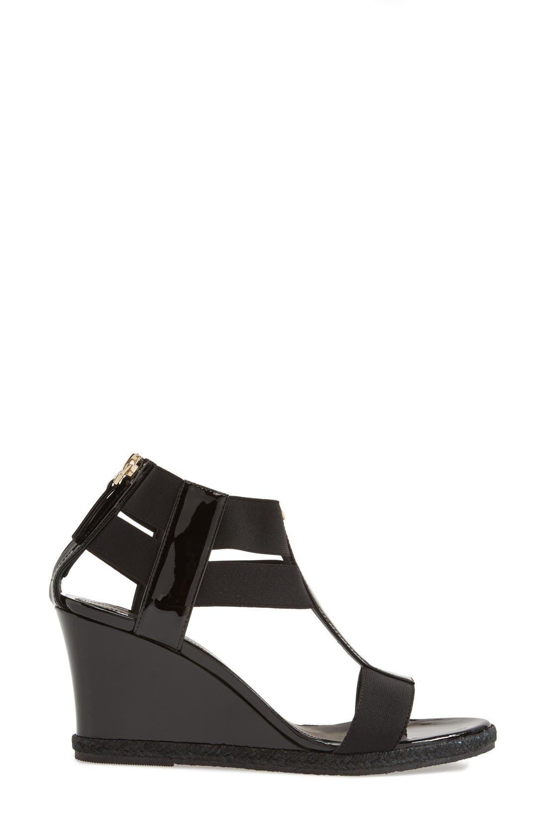 Alternate Image 4  - Fendi 'Carioca' Wedge Sandal (Women)