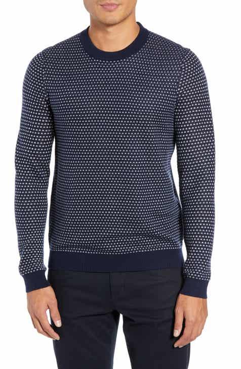 Ted Baker London Malttea Slim Fit Textured Sweater
