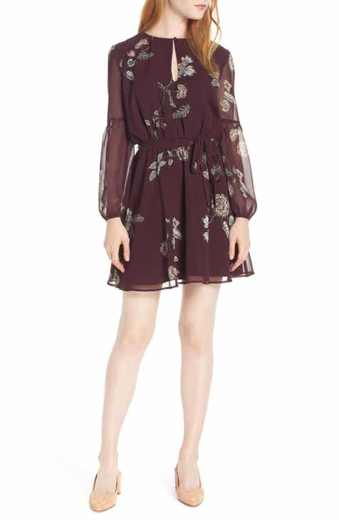 Carolina Herrera Leaf Print Stretch Cotton Dress by CAROLINA HERRERA