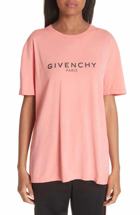 4dcf5f0a2221 Givenchy Distressed Logo Tee