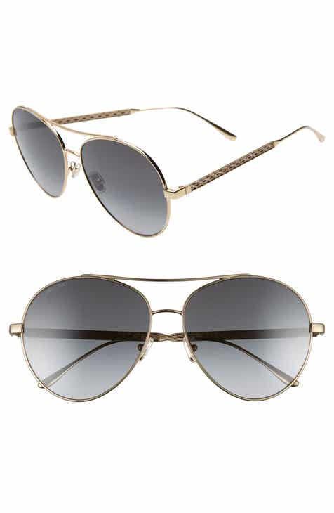 34fc2671aa4 Jimmy Choo Noria 61mm Special Fit Gradient Aviator Sunglasses