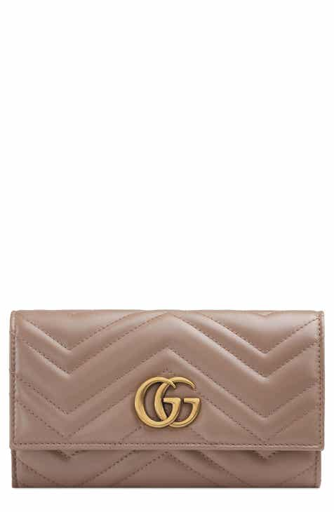 1bd801ff86d Gucci Marmont 2.0 Leather Continental Wallet