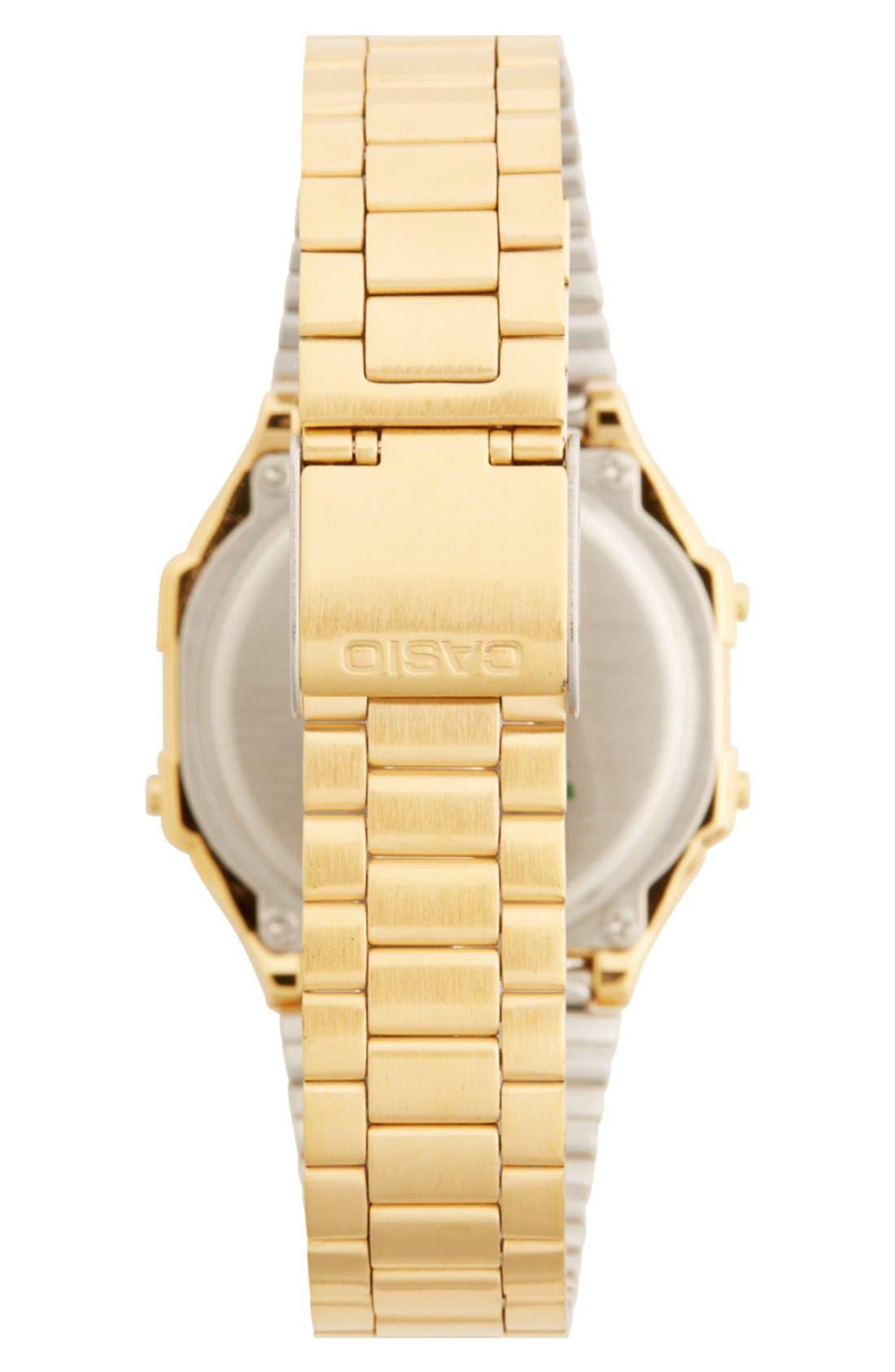 Alternate Image 2  - G-Shock 'Casio' Digital Bracelet Watch, 39mm x 36mm