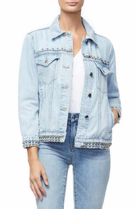 a02d9424e767f Good American Boyfriend Denim Jacket (Regular   Plus Size)